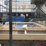ただいま、工事中です。北郷1-8分譲地 第一期9月完成住宅