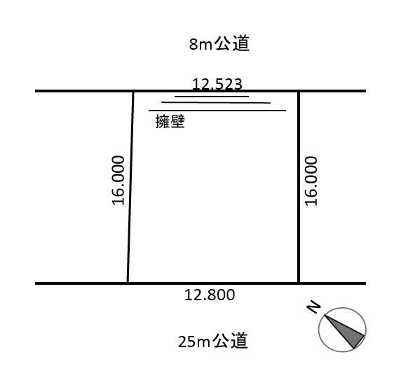 厚別区厚別東2条6丁目(地下鉄「新さっぽろ」駅徒歩20分